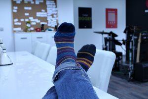 גרביים נגד ריח ברגליים